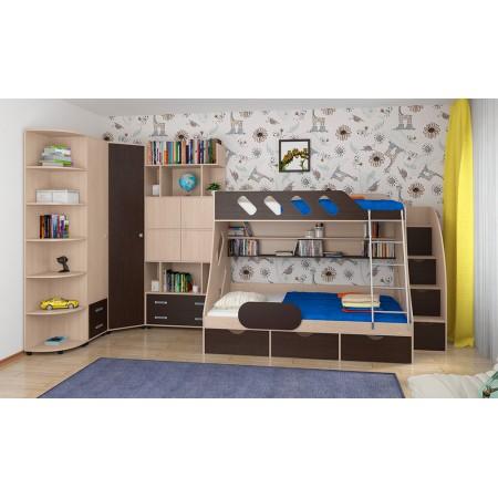 Детская комната Дельта - Композиция 15 ДВ