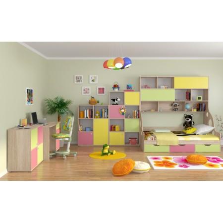Детская комната Дельта - Композиция 3 ДВ