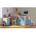 Кровать-чердак Дюймовочка-3, Формула Мебели