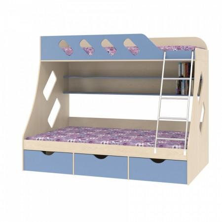 Двухъярусная кровать Дельта - 20.01, Формула Мебели