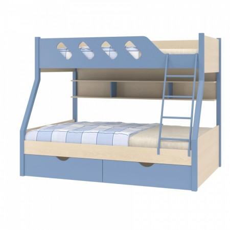 Двухъярусная кровать Дельта - 20.02, Формула Мебели