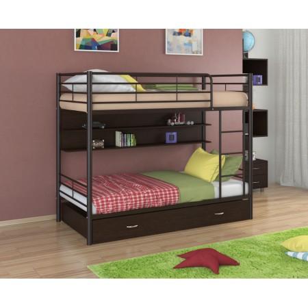 Двухъярусная кровать Севилья - 3 ПЯ , Формула Мебели