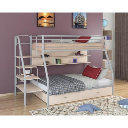 Двухъярусная кровать Толедо 1 ПЯ, Формула Мебели