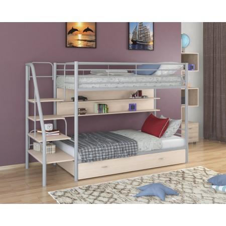 Двухъярусная кровать Толедо ПЯ, Формула Мебели