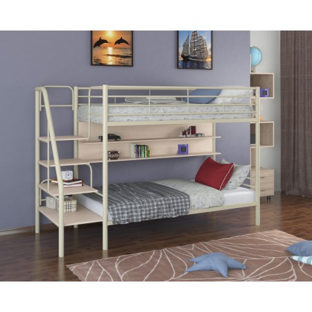 Двухъярусная кровать Толедо П, Формула Мебели