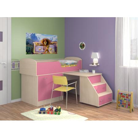Кровать-чердак Дюймовочка-2, Формула Мебели