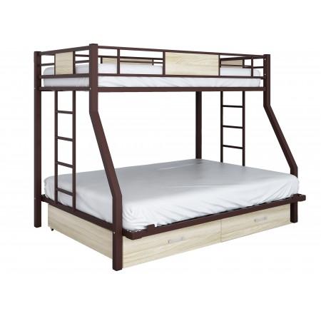 Двухъярусная кровать Гранада  ЯЯ 140, Формула Мебели