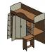 Кровать-чердак Теремок-1, Формула Мебели