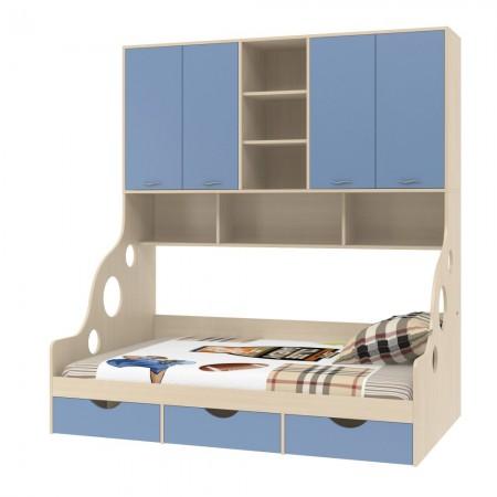 Кровать с антресолью Дельта - 21.01, Формула Мебели