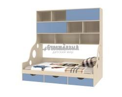 Кровать с антресолью Дельта - 21.02