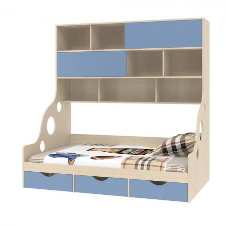 Кровать с антресолью Дельта - 21.02, Формула Мебели