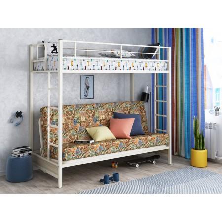 Двухъярусная кровать с диваном Мадлен ЯЯ, Формула Мебели