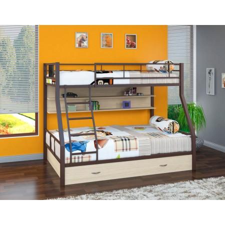 Двухъярусная кровать Гранада - 1 ПЯ , Формула Мебели