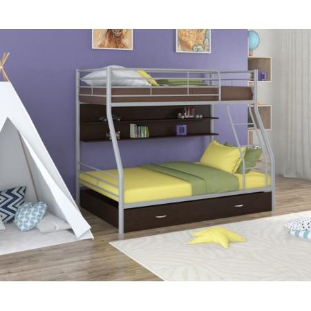 Двухъярусная кровать Гранада - 2 ПЯ, Формула Мебели