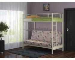 Двухъярусная кровать с диваном Мадлен