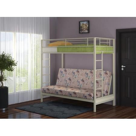 Двухъярусная кровать с диваном Мадлен, Формула Мебели