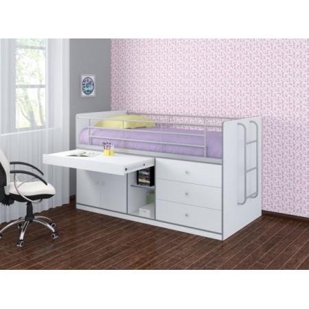 Кровать-чердак Дюймовочка-6, Формула Мебели