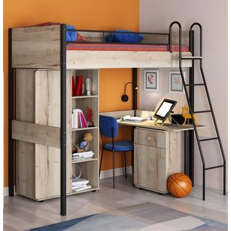 Комплект мебели для детской Дельта Лофт, Формула Мебели