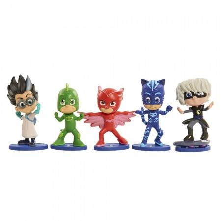 Игровой набор из 5 фигурок (7 см) - Герои в Масках, PJ Masks