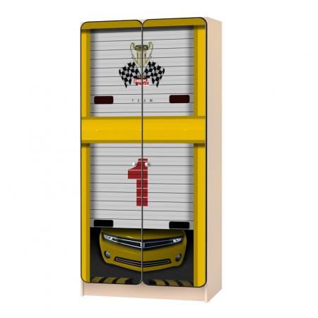 Carobus шкаф детский Мустанг желтый, Carobus