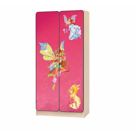 Carobus шкаф детский Винкс-2 розовый, Carobus