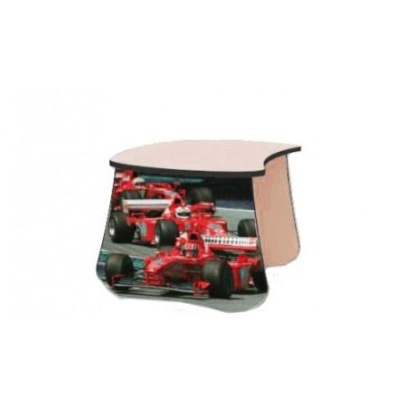 Carobus детский столик Формула красный, Carobus