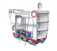 Двухъярусная Кровать в виде корабля Дрим Лайнер