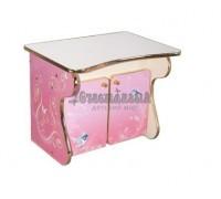 Carobus тумбочка-столик - Принцесса
