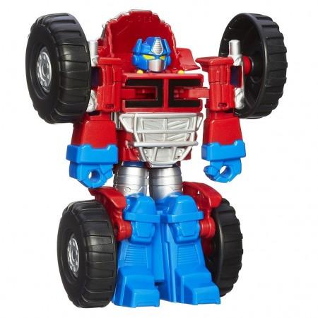 Робот Трансформер Оптимус Прайм с большими колесами, Hasbro