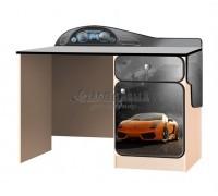 Carobus письменный стол СуперКар оранжевый
