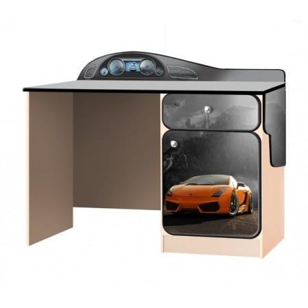 Carobus письменный стол СуперКар оранжевый, Carobus