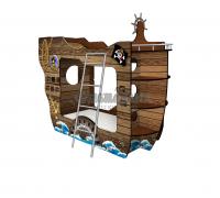 Двухъярусная кровать Пиратский Корабль Черная Жемчужина