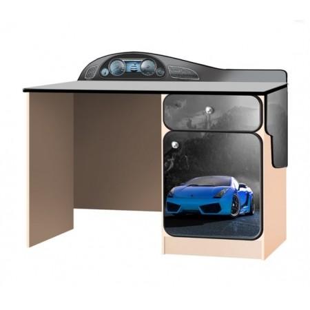 Carobus письменный стол СуперКар синий, Carobus