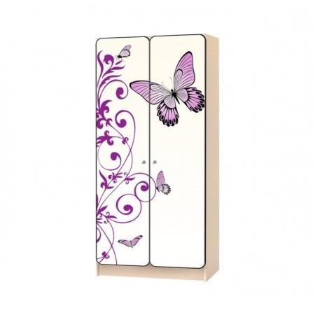 Carobus шкаф детский Бабочка белый, Carobus