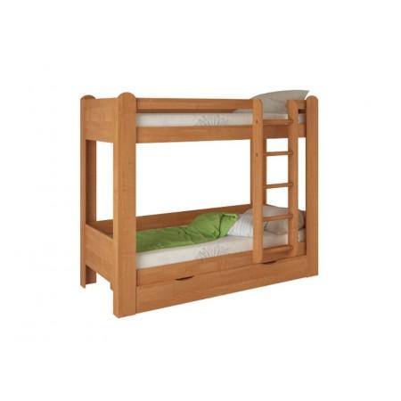 Кровать двухъярусная №1 , Мебельная фабрика Корвет