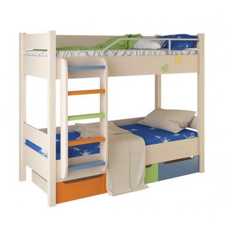 Кровать двухъярусная №3 , Мебельная фабрика Корвет