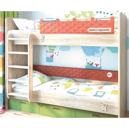 Кровать Двухъярусная №5 МДК 4.14, Мебельная фабрика Корвет