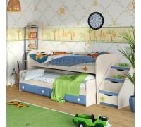 Кровать двухъярусная с выкатным местом №36