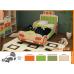 Детская кровать Машинка №138 Серия МДК 4.13, Мебельная фабрика Корвет