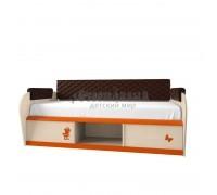 Детская односпальная кровать с ящиками 12.2М Серия 4.13