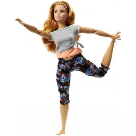 Барби Фитнес (полное тело) - Barbie Made To Move, Mattel