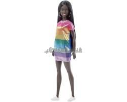 Барби в радужном платье - Sparkle Doll