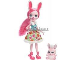 Кукла Энчантималс Бри - Девочка Кролик с питомцем