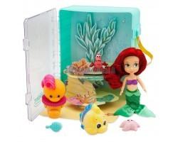 Игровой Набор  Кукла Малышка Ариэль - в чемоданчике