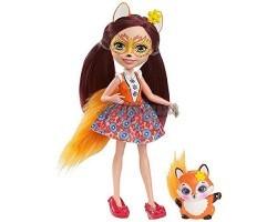 Кукла Энчантималс Фелисити - Девочка Лиса с питомцем
