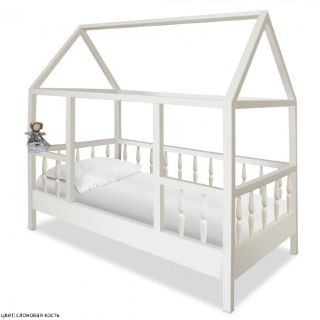 Односпальная кровать домик для детей Миа, ВМК-Шале