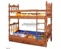 """Двухъярусная кровать """"Шрек-2"""""""