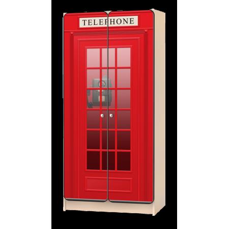 Carobus шкаф детский Телефонная будка, Carobus