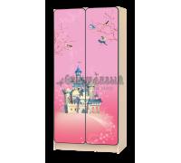 Carobus шкаф детский Принцесса