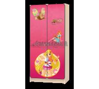 Шкаф детский «Винкс» розовый